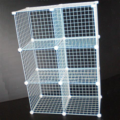 wire mesh drawers ikea black wire cube storage unit shoe clothes rack new