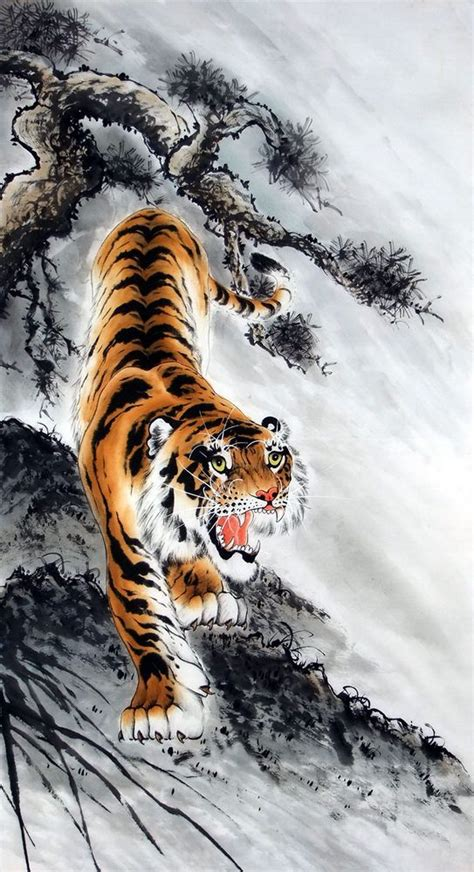Lu Tiger 119 best images about painting on