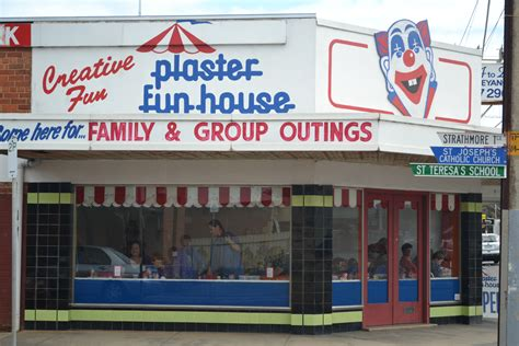 plaster house plaster fun house at brighton adelaide