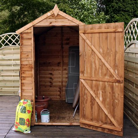 10 X 4 Wooden Shed 10 X 6 Buckingham Wooden Value Overlap Apex Garden Shed