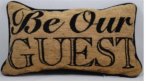 Disney Be Our Guest Pillow disney be our guest pillow favorite places spaces