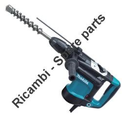 Rotary Hammer Hr 3541 Fc Hr3541 Fc Makita makita spare parts for rotary hammer hr4011c