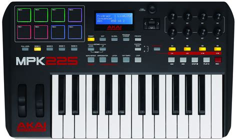 Keyboard Midi akai mpk225 midi keyboard controller review the wire realm