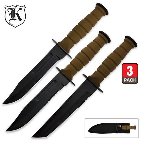 warrior knives marine warrior knife set kennesaw cutlery