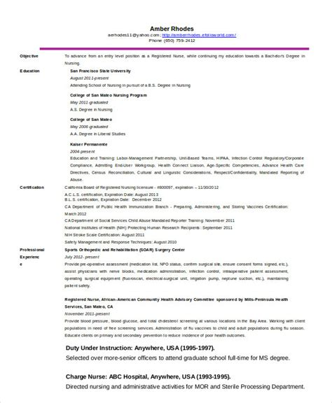Telemetry Resume Objective Resume 11 Free Word Pdf Documents Free Premium Templates