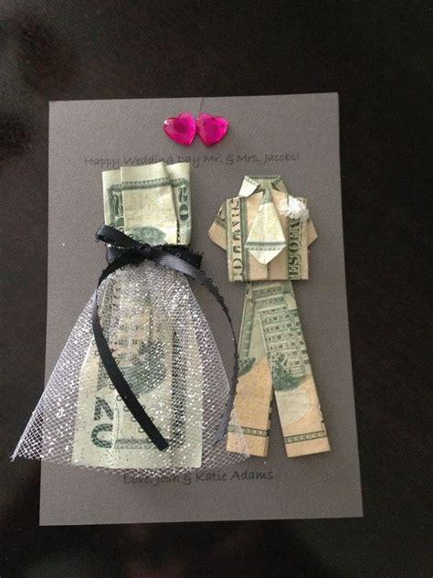 braut aus geldscheinen falten geldscheine falten kleid hochzeitskarte basteln