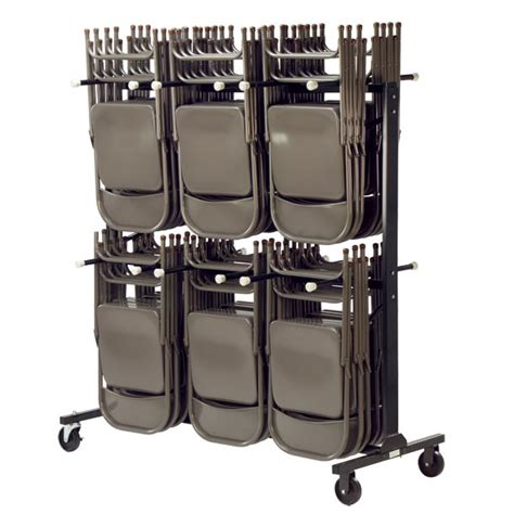 folding chair cart nsn virco tier chair storage rack at school outfitters
