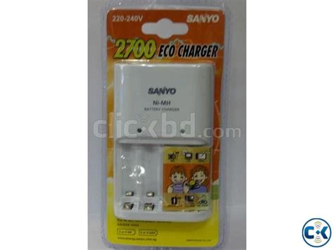 Fas Charger Aa Aaa Isi 2 Recharger Battery Rd 101 Original sanyo eco charger 2700 aa aaa 1 set isi 2 pcs clickbd