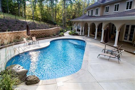 custom swimming pools mooresville nc lake norman