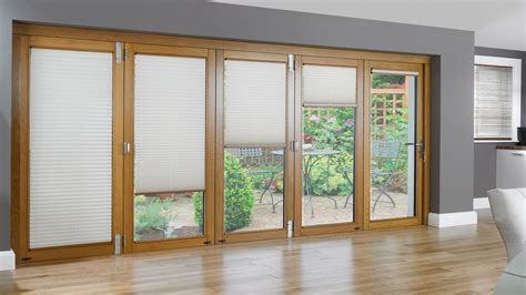 Accordion Doors Patio Sliding Glass Doors With Built In Sliding Glass Doors With Built In Blinds