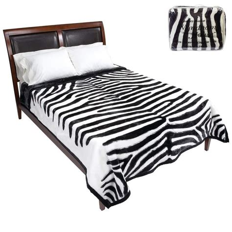 heavy blanket for bed white tiger print heavy duty luxury blanket for queen or
