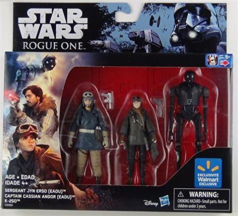 Wars Rogue One 3 75 Sergeant Jyn Erso Eadu Figure New 1 wars rogue one 3 75 figure 3 pack exclusive with sergeant jyn erso captain cassian