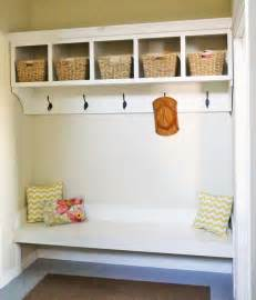 Mudroom Storage Bench White Large Custom Mudroom Organizer With Cubbies And Hooks Diy Projects