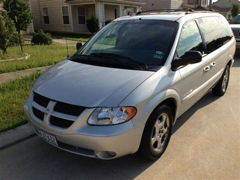 automobile air conditioning service 2001 dodge grand caravan lane departure warning buy used 2001 dodge grand caravan mini es passenger van 4 door 3 8l in tomball texas united