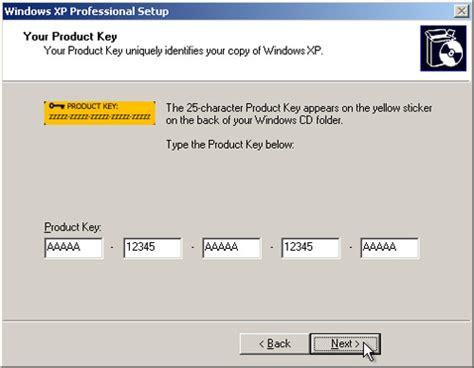 format cd key xp product keys for windows