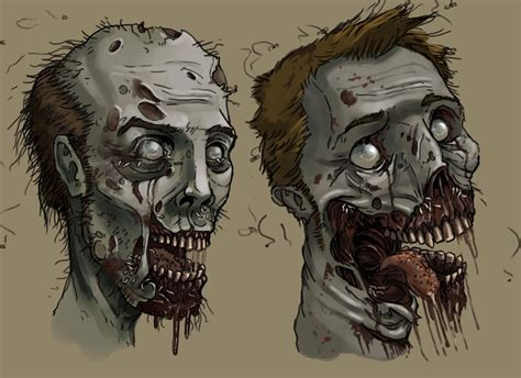 doodle zombies doodles by andy butnariu on deviantart