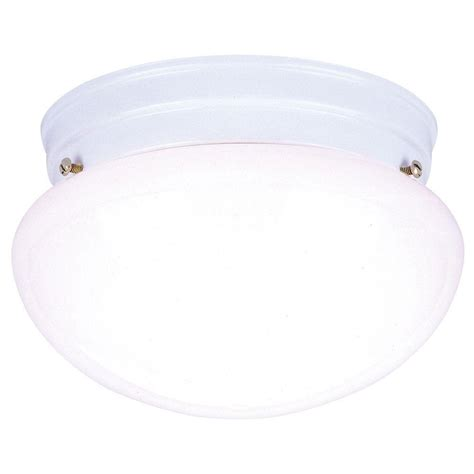 White Glass Ceiling Light Westinghouse 2 Light Ceiling Fixture White Interior Flush Mount With White Glass 6661100 The