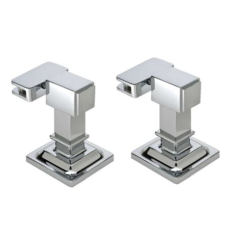 Bathroom Mirror Mounts Afina Radiance Tilt Contemporary Mounting Brackets Polished Chrome Rm Cr C J Keats