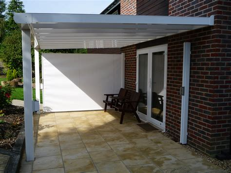 samson awnings samson piazza aluminium patio roof terrace cover