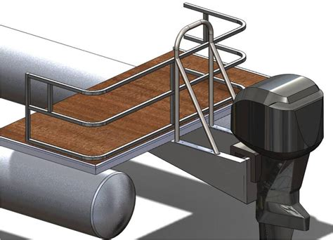deck boat tow bar ski towbar design again pontoon boat deck boat forum