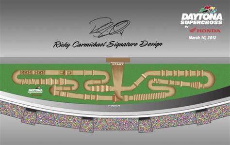 motocross race track design rc design unveiled for daytona supercross racer x