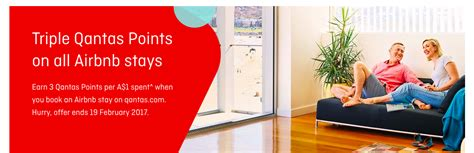 airbnb qantas points how to earn qantas points credits and other perks with