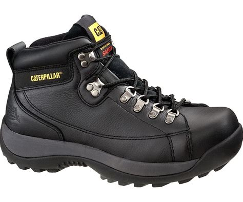 hydraulic steel toe work boot black cat footwear