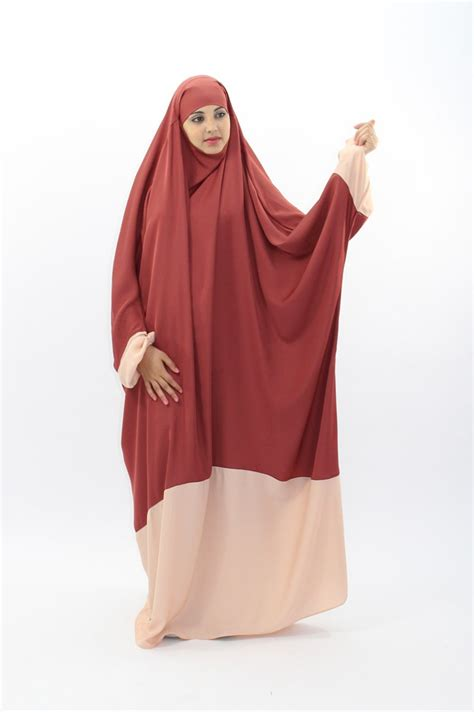 Khimar Duo Colour jilbab the clothes of muslim jilbab of quality