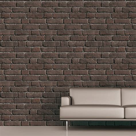 Paper Bricks - koziel loft bricks trompe l oeil wallpaper by