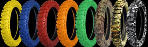 colored dirt bike tires tyers and were can i buy them pit bike club