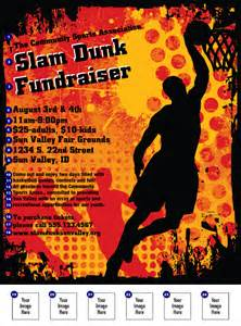 Basketball Flyer Template by Basketball Flyer Ticketprinting