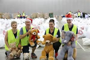 christmas gifts delivered to hundreds of queensland
