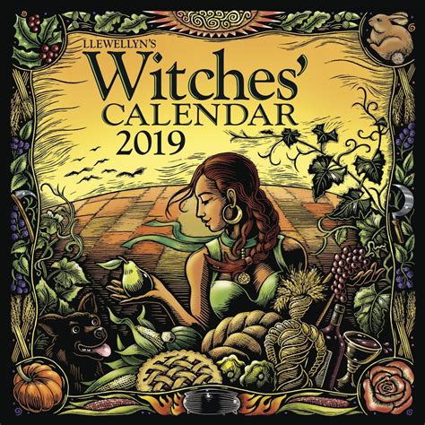 dragon witches 2018 calendar witches 2019 wall calendar