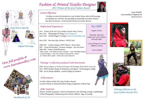 cv fashion designer cv assistant fashion designer in moodley fashion