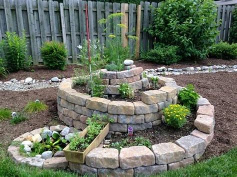 backyard ideas for small spaces 12 spiral garden designs ideal for small spaces
