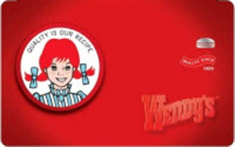 Check Wendy S Gift Card - wendys gift card balance check the balance of your wendys gift cards