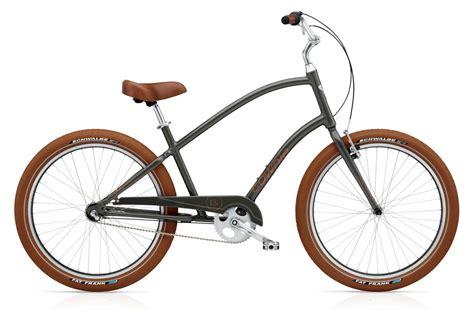 electra beach cruiser bikes electra beach cruiser townie balloon 3i army grey alltricks