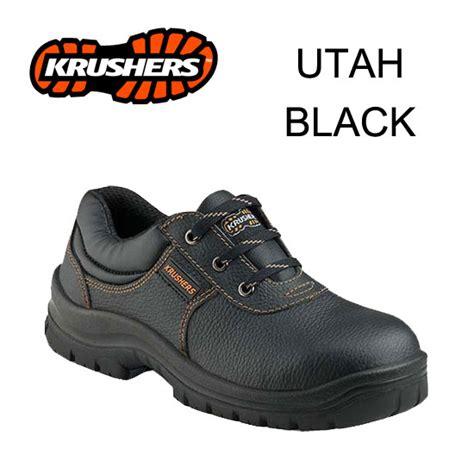Sepatu Safety Black Rhino Jual Sepatu Safety Shoes Krushers Utah Black Sim