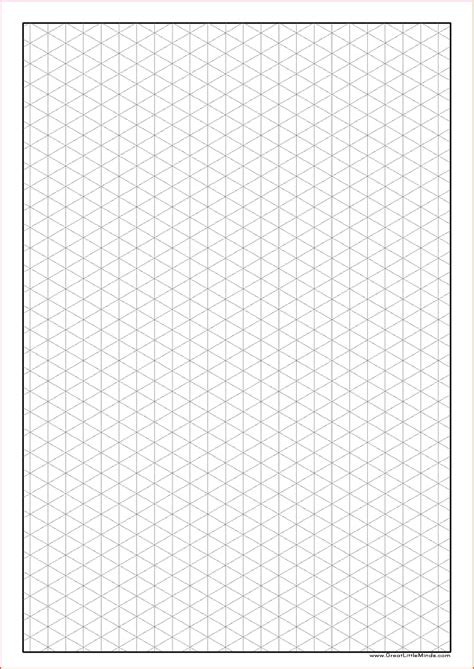 printable isometric paper a3 a4 isometric paper a4