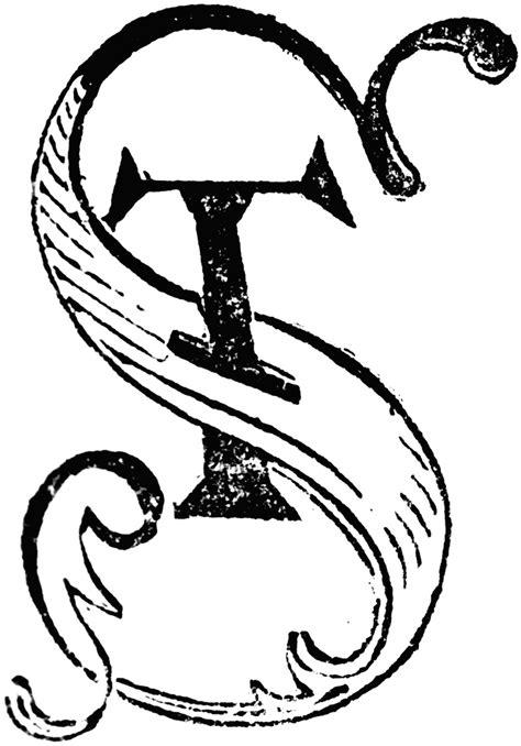images of st decorative letters st clipart etc