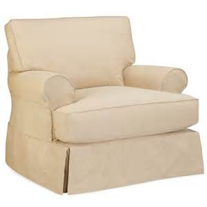 gray t cushion slipcover hton t cushion slipcover chair luxe home company