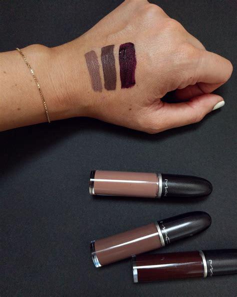 Mac Retro Matte Liquid Lipstick mac retro matte liquid lipsticks new shades spiffykerms