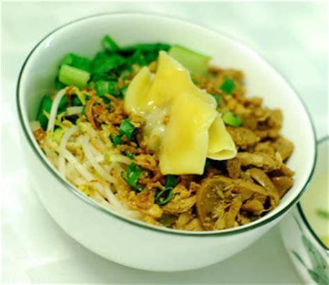 Pangsit Mie Mie Ayam mie ayam pangsit resep masakan