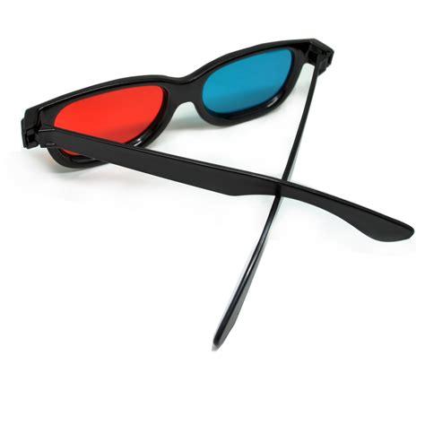 3d glasses plastic frame kacamata 3d h3 black