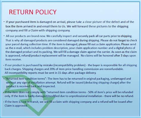 ebay return policy bmw genuine e53 x5 black grille inlets pair new