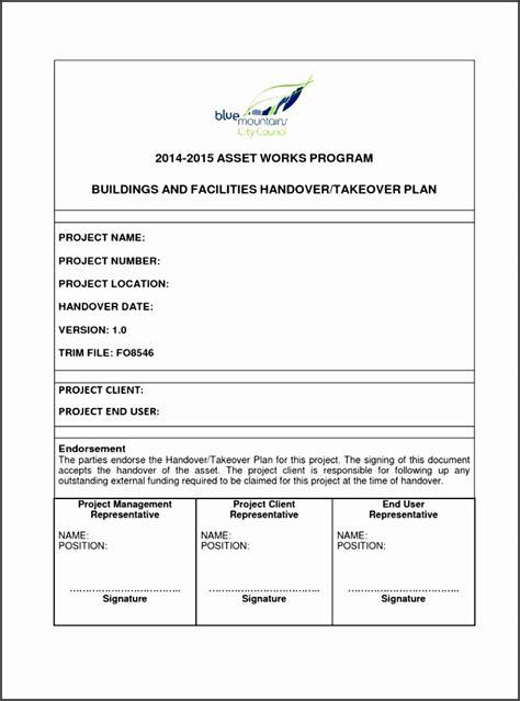 handover certificate template 10 project handover template sletemplatess
