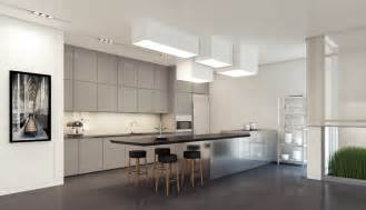 Kitchen Units Designs by 1 Gray Kitchen Units Interior Design Ideas
