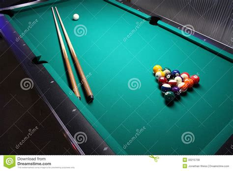 How To Set Up A Pool Table by A Pool Table Set Up For A Stock Photo Image 33215758