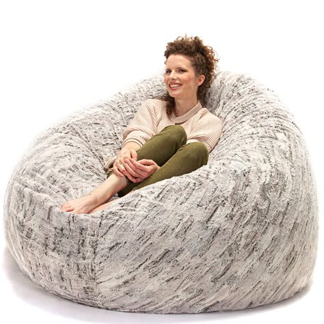 jaxx  foot cocoon large bean bag chair  adults
