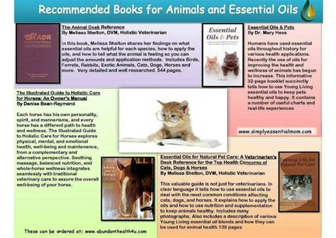 yl reference book animals essential oils
